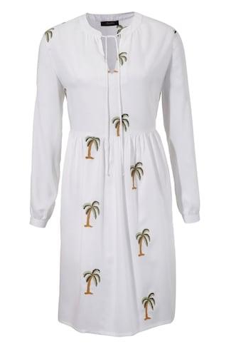 Aniston CASUAL Tunikakleid, mit Palmen bestickt kaufen