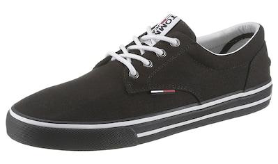 TOMMY JEANS Sneaker »TOMMY JEANS TEXTILE SNEAKER«, mit Logostickerei kaufen