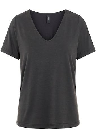 Y.A.S V-Shirt »YASLUNA«, aus softem Modal kaufen
