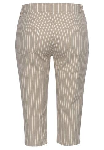 LASCANA Caprihose, mit Streifenprint kaufen