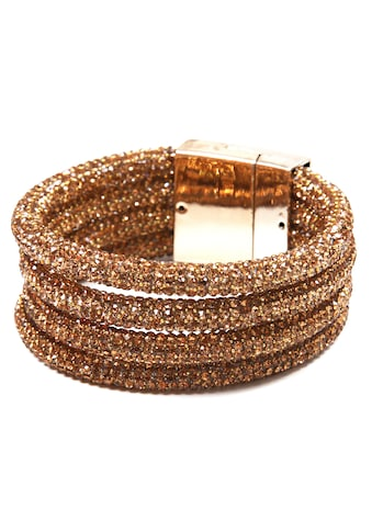 COLLEZIONE ALESSANDRO Armband »A2858-F08«, mit Glassteinen kaufen