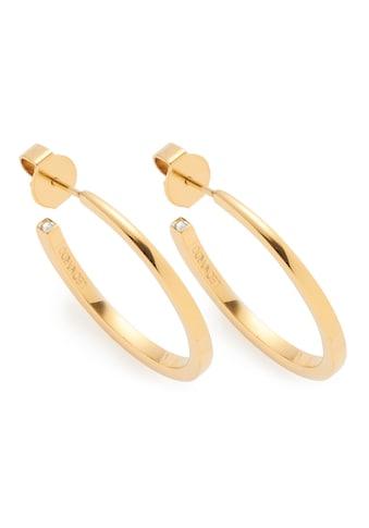 CIAO! BY LEONARDO Paar Creolen »Biggi gold CIAO, 018216« kaufen