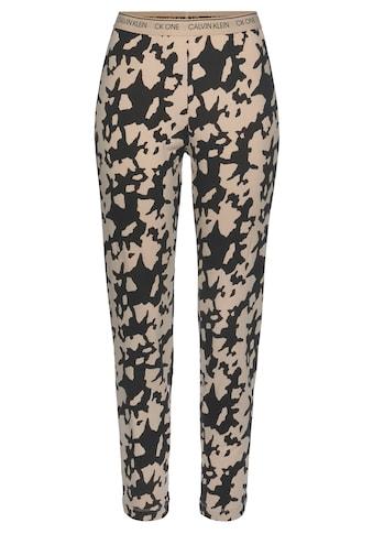 Calvin Klein Pyjamahose, mit Alloverdruck kaufen