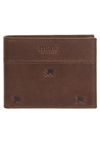 MANO Geldbörse »DON LEON«, 2fach klappbar kaufen