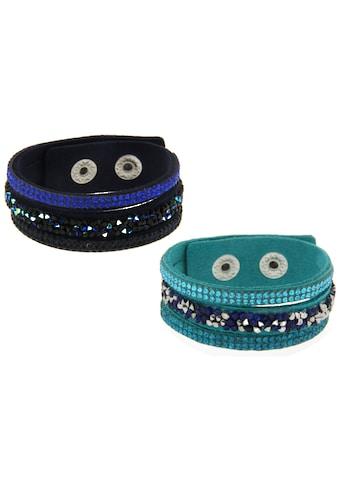 La Piora Armband »Armband Set«, türkis & dunkelblau kaufen