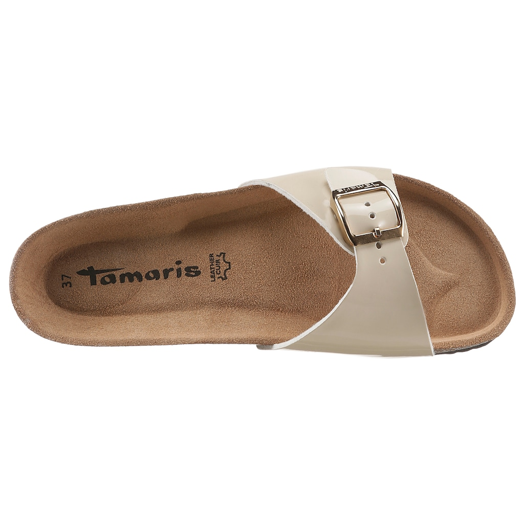 Tamaris Pantolette »CORRA«, mit Leder-Innensohle