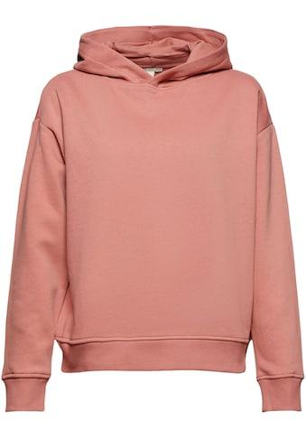 edc by Esprit Kapuzensweatshirt, als perfektes Basic Piece kaufen