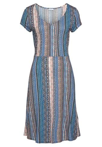LASCANA Sommerkleid, mit grafischem Print kaufen