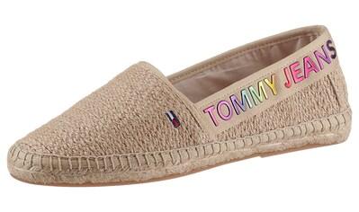 Tommy Jeans Espadrille »RAINBOW BRANDING ESPADRILLE«, mit buntem Logoschriftzug kaufen