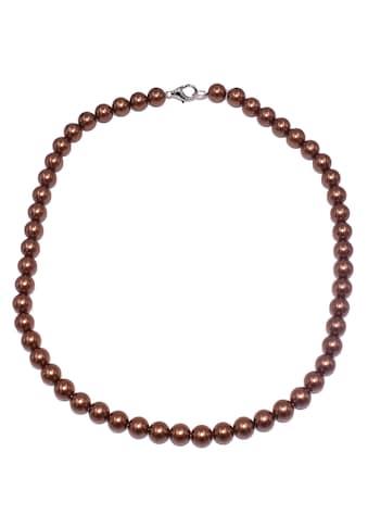 Firetti Perlenkette »Perlen«, Made in Germany - mit Muschelkernperle kaufen