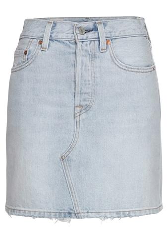 Levi's® Jeansrock »deconstructed Iconic Bf Skirt«, mit Knopfverschluss kaufen