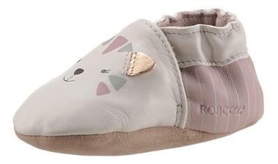 Robeez Krabbelschuh »Charming Cats«, mit niedlichem Kätzen-Druck kaufen