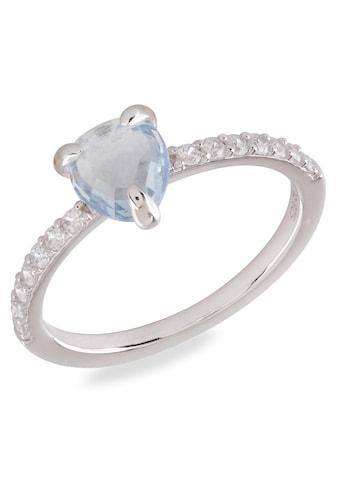 VILMAS Silberring »Crystal Drop, 4028146651500, 1494, 1487«, mit Zirkonia kaufen
