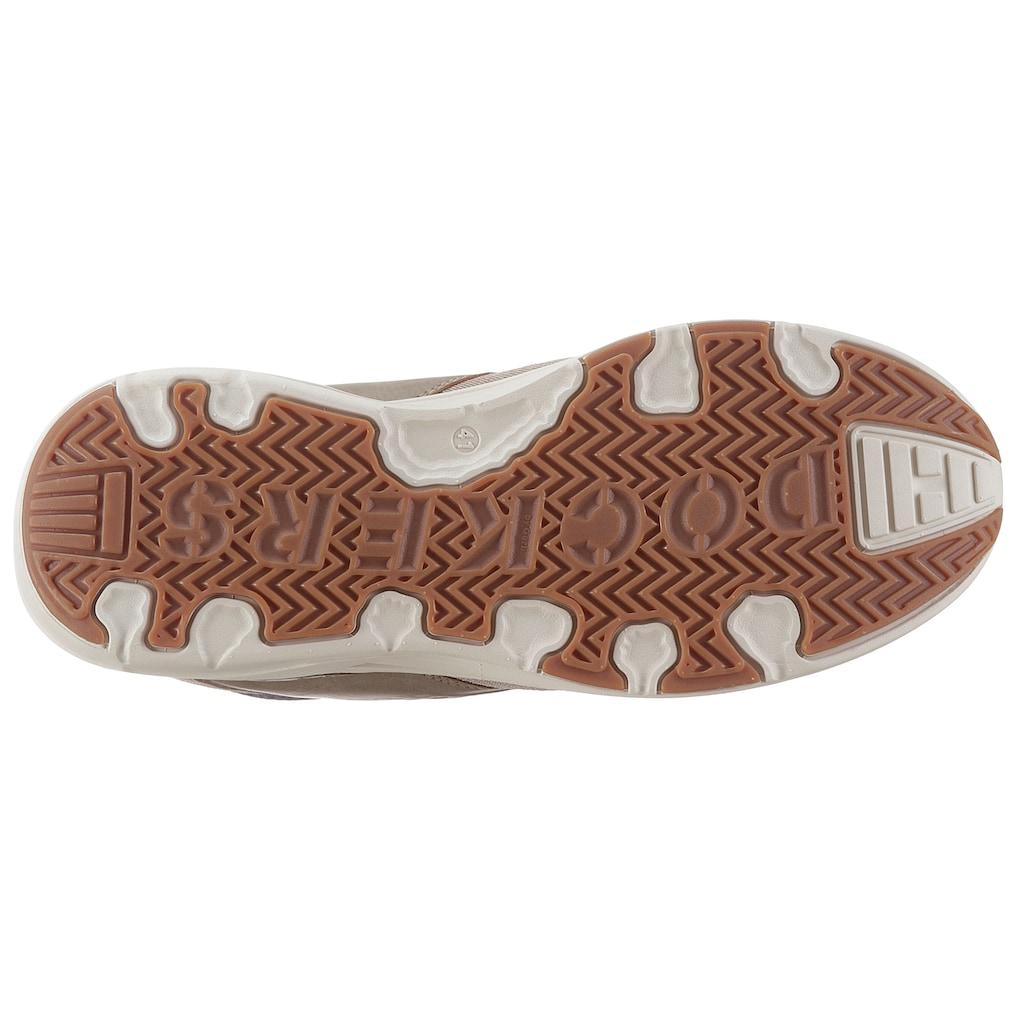 Dockers by Gerli Slip-On Sneaker, im Materialmix