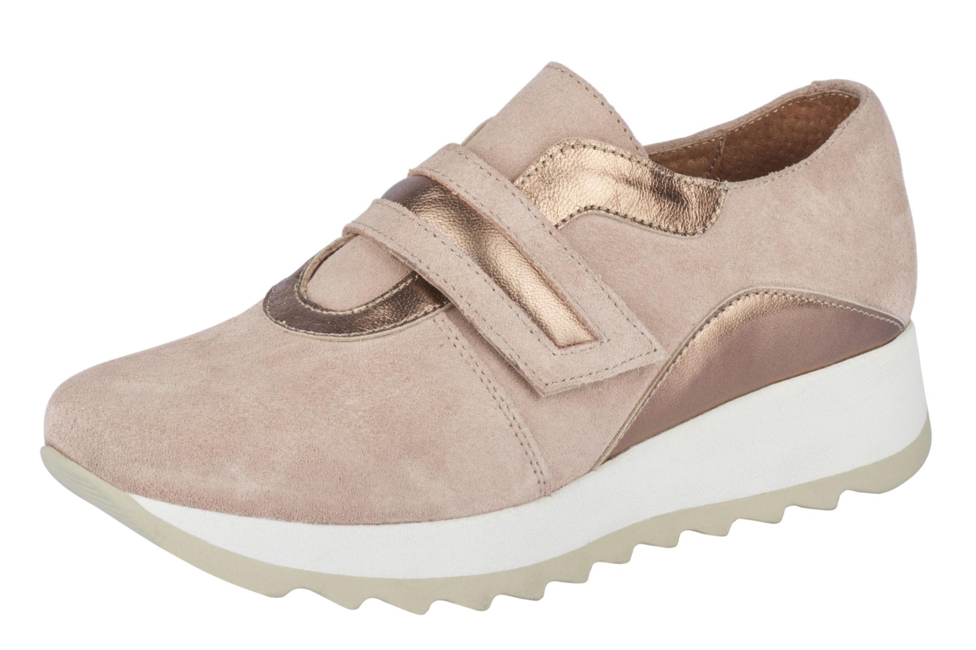Heine Sneaker mit trendiger weißer Sohle