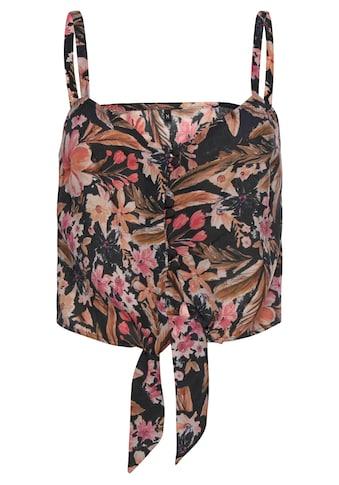LASCANA Crop-Top, mit Blumendruck kaufen