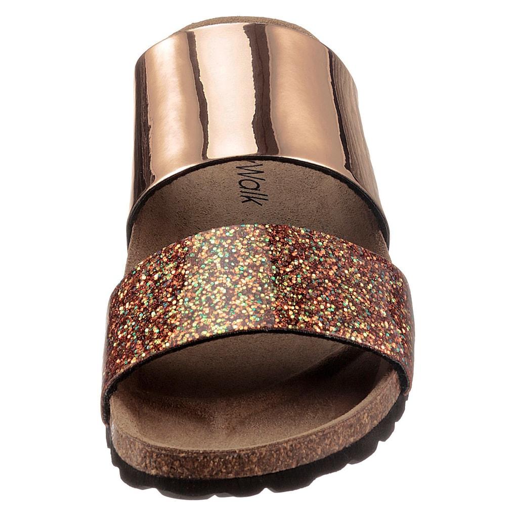 Bio Time Pantolette, mit vorgeformtem Fußbett