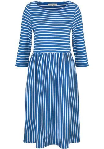 TOM TAILOR Denim Jerseykleid, im süßen Streifen Look kaufen
