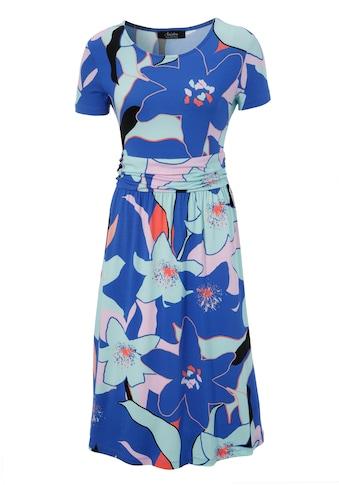 Aniston SELECTED Sommerkleid, im sommerlichen Allover-Druck - NEUE KOLLEKTION kaufen