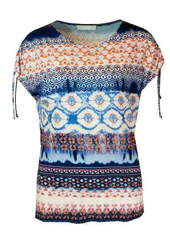 bianca Print-Shirt »JULIE«, im coolen Batik-Look mit Raffungen am Arm kaufen