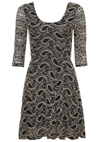 Apricot Minikleid »2tone Paisley Lace Skater Dress«, mit Paisley-Muster kaufen