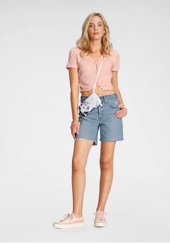 Levi's® Shorts »501 Mid Thigh«, mit Destroyed-Effekten und ausgefranstem Saum kaufen
