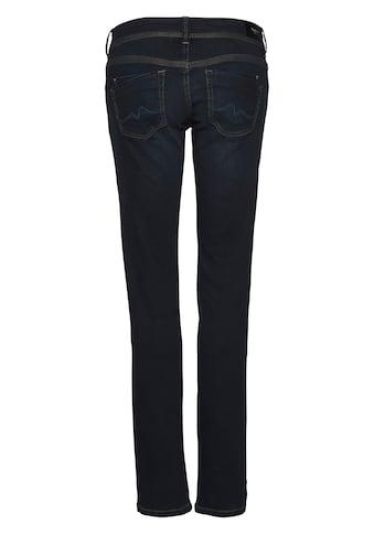 Pepe Jeans Slim-fit-Jeans »SATURN«, im basic Straight-Fit in Mid-Waist und 5-Pocket-Stil kaufen