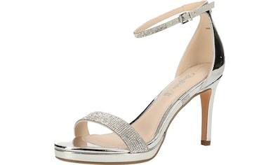 Buffalo High-Heel-Sandalette »Lederimitat« kaufen