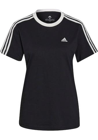 adidas Performance T-Shirt »ESSENTIALS 3-STRIPES T-SHIRT« kaufen