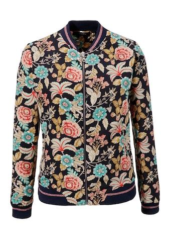 Aniston CASUAL Blouson, mit Blumendruck kaufen