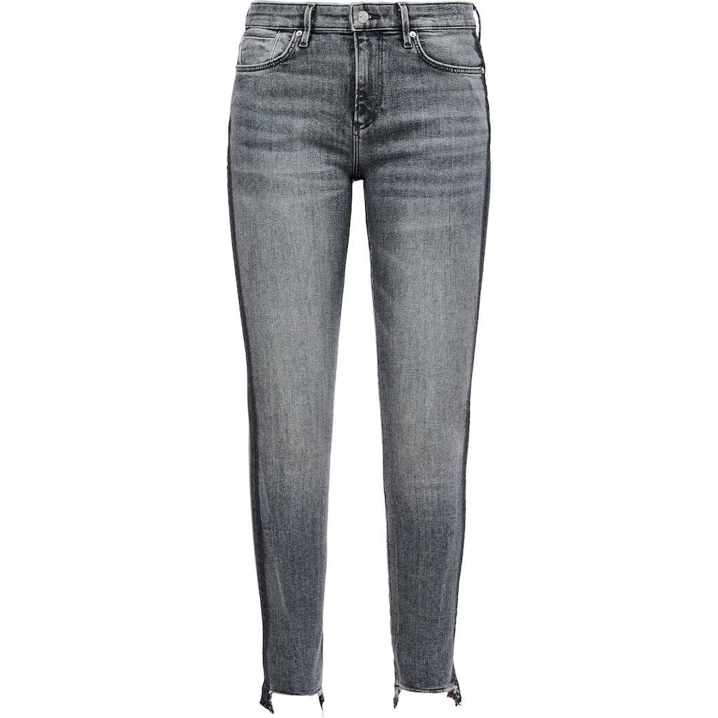 s.Oliver Skinny-fit-Jeans, mit seitlichem Farbeffekt