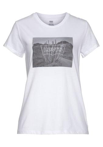 Levi's® Rundhalsshirt »THE PERFECT TEE«, mit Desert-Print kaufen
