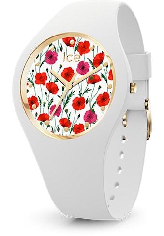 ice - watch Quarzuhr »ICE flower  -  White poppy  -  Small  -  3H, 16657« kaufen