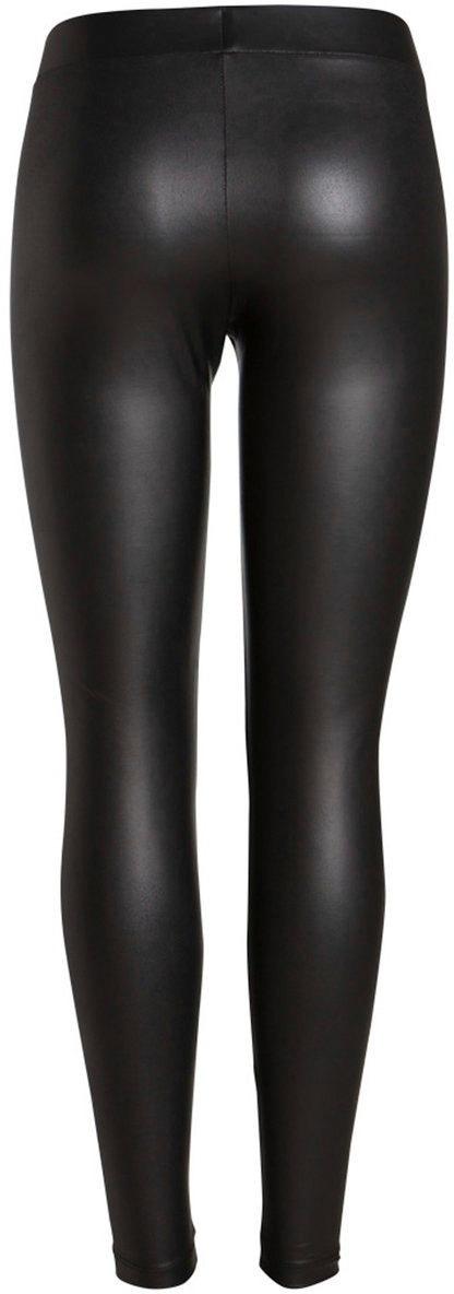 pieces -  Leggings, in Leder Optik