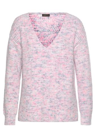 Buffalo V-Ausschnitt-Pullover, aus weichem Chenille kaufen