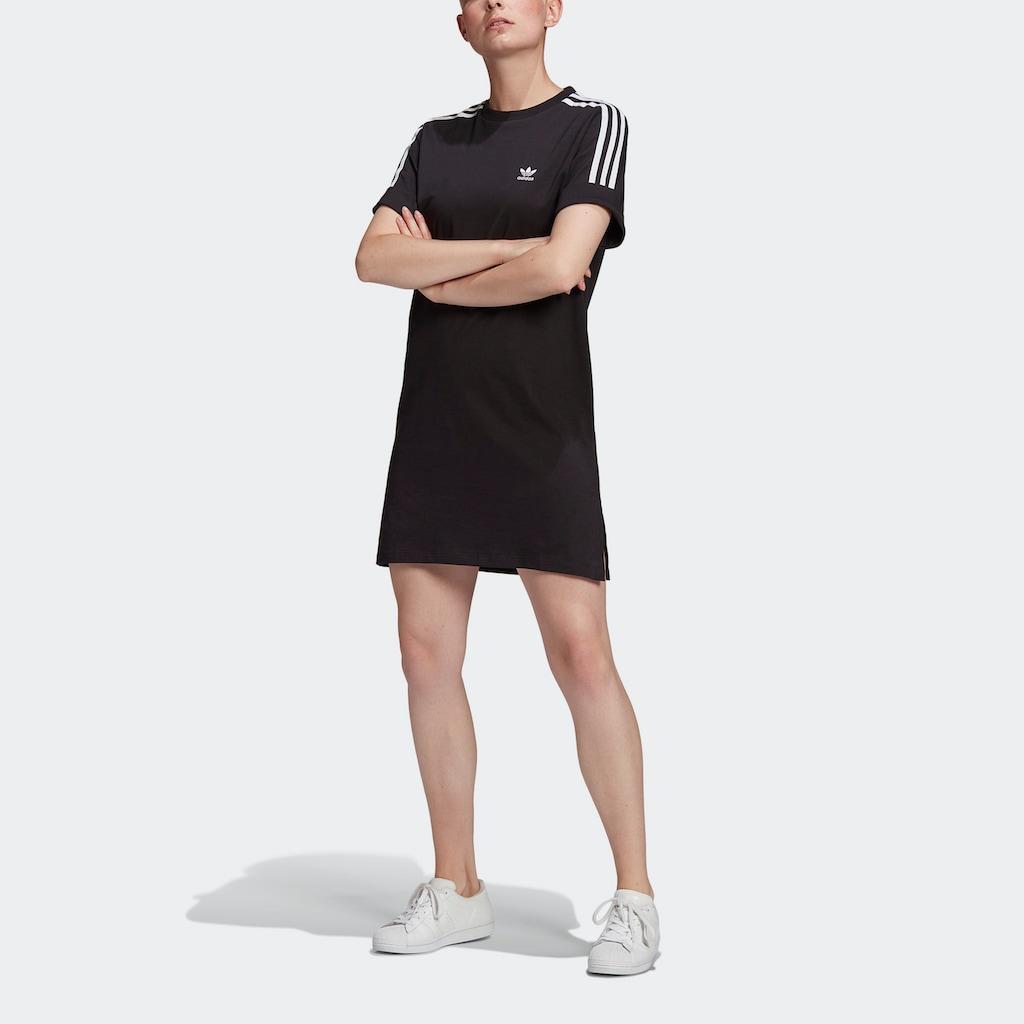 adidas Originals Shirtkleid »ADICOLOR CLASSICS ROLL-UP SLEEVE T-SHIRT-KLEID«