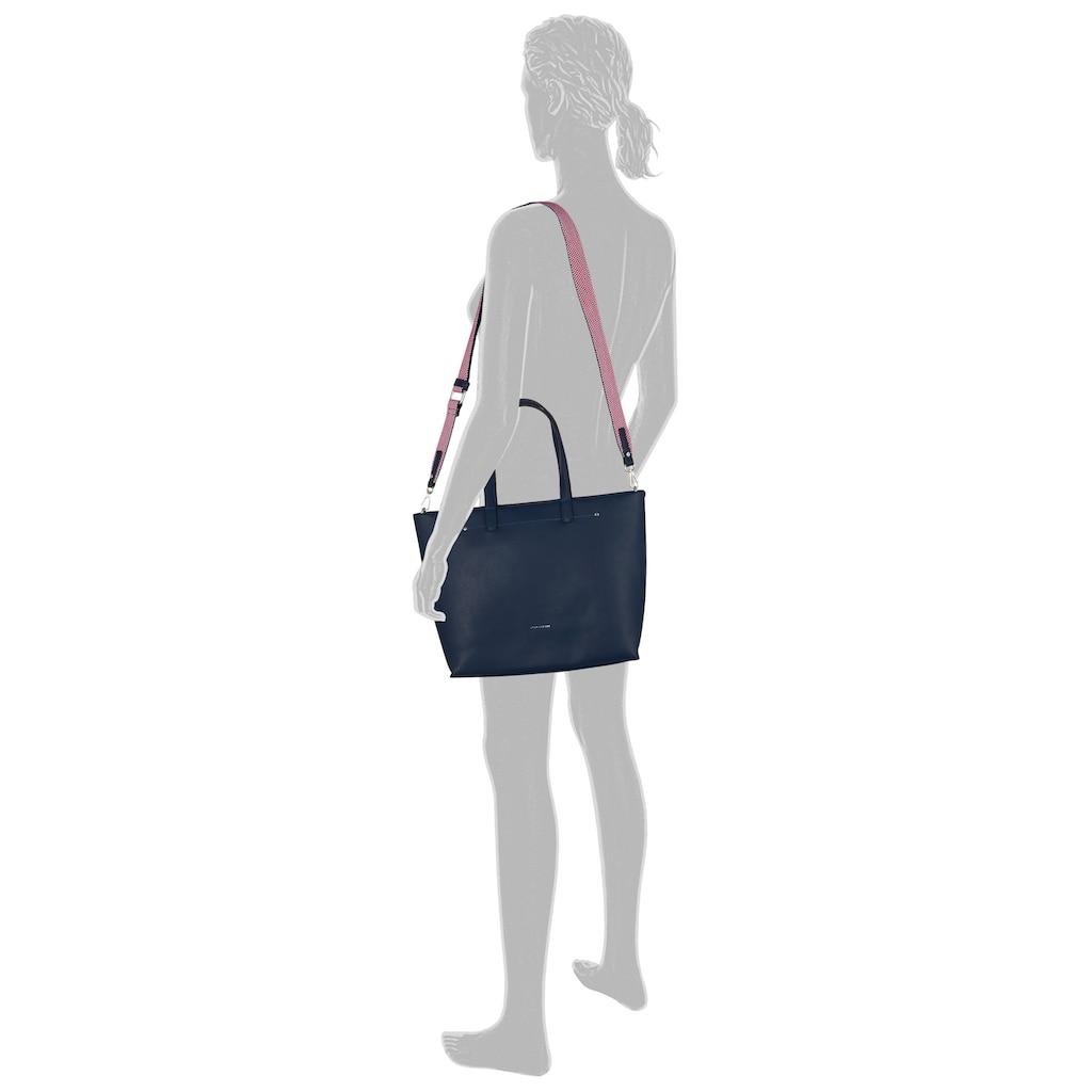 TOM TAILOR Shopper »Delia«, Mit schönen rot-weißen Details