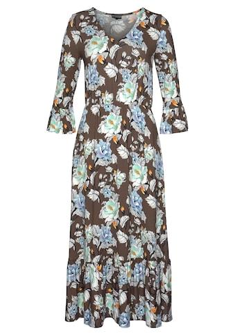 Laura Scott Jerseykleid, floral bedruckt in aktueller Midilänge kaufen