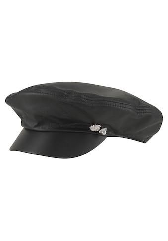 Seeberger Schirmmütze, Leder-Elbsegler kaufen