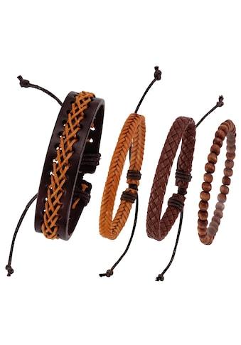 J.Jayz Armband Set »kann auch einzeln getragen werden« (Set, 4 tlg.) kaufen
