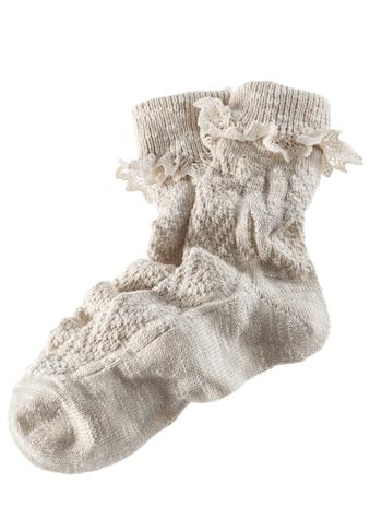 Trachten - Socken Damen mit zarter Spitze kaufen