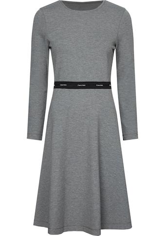 Calvin Klein Jerseykleid »MILANO C-NK DRESS«, mit Calvin Klein Logo-Elastiktape in der... kaufen