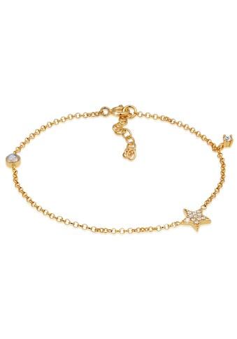 Elli Armband »Armband Sterne Zirkonia Labradorit Edelstein, 0212412019«, mit... kaufen