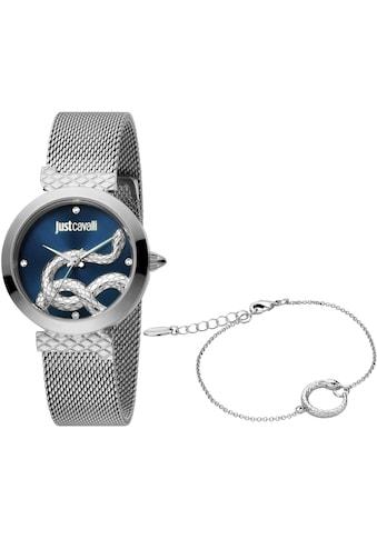 Just Cavalli Time Quarzuhr »creazione 2, JC1L091M0045«, (Set, 2 tlg., Uhr mit 1... kaufen