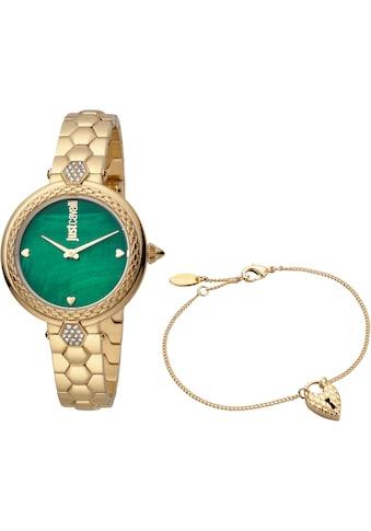Just Cavalli Time Quarzuhr »creazione per te, JC1L128M0575«, (Set, 2 tlg., Uhr mit 1 Schmuckarmband) kaufen