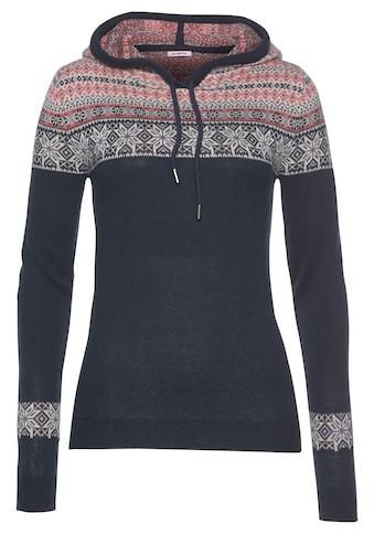 KangaROOS Kapuzenpullover, mit tollem Muster kaufen