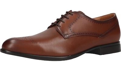 Geox Schnürschuh »Glattleder« kaufen