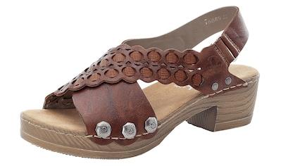 Rieker Sandalette, in moderner Optik kaufen