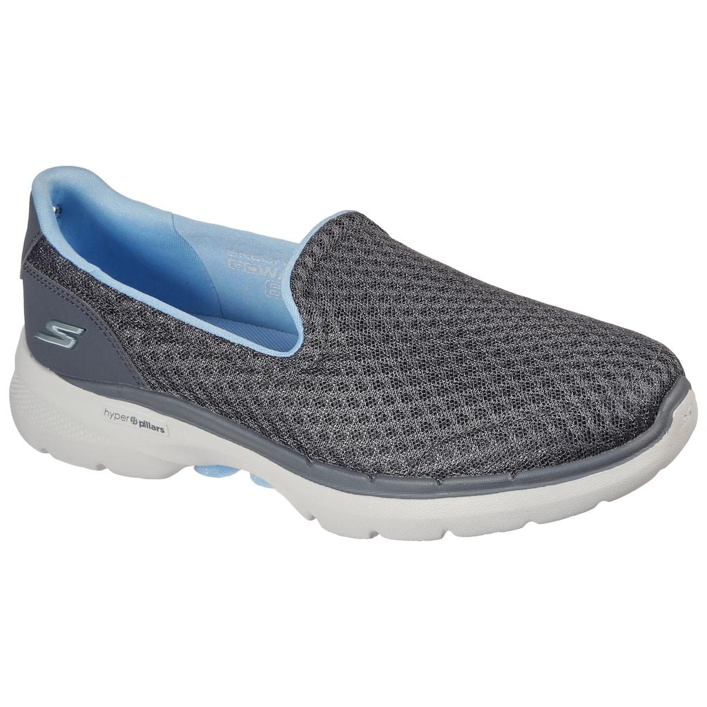 Skechers Slip-On Sneaker »GO WALK 6-BIG SPLASH«, im monochromen Look