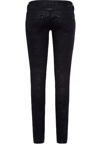 Freeman T. Porter Slim-fit-Jeans »Alexa«, mit stylischem Snake-Alloverprint kaufen